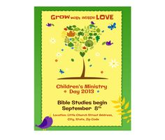 Download this Community Event Flyer Template and other free printables from MyScrapNook.com