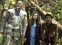 SyFy's Alice  <3 Andrew Lee Potts in this, among other things