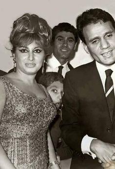 Arab Celebrities, Old Egypt, Travel Pictures, Nostalgia, Cinema, Actresses, Nightingale, Actors, Couple Photos