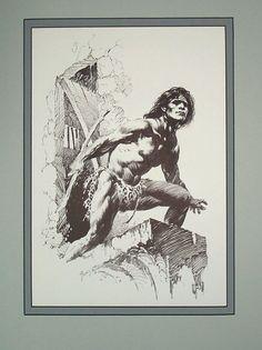Edgar Rice Burroughs 10 Sun Bronzed Flesh  Artist: Frank Frazetta