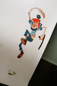 Daily Character Drawings IV by Nelson Atmos, via Behance