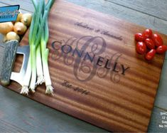 Personalized Cutting Board Personalized by TaylorCraftsEngraved