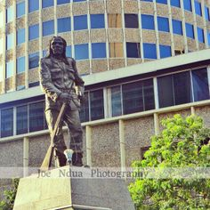 our heroes Street Art Photography, Kenya, Lion Sculpture, Statue, Artwork, Beautiful, Work Of Art, Auguste Rodin Artwork, Artworks