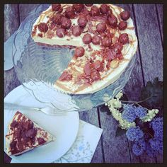 Jo's Blue AGA: Malted Chocolate and Toffee Cheesecake
