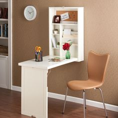 Hide-Away Desk | dotandbo.com http://www.dotandbo.com/collections/keep-it-organized/hide-away-desk $153