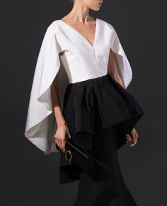 The Trend: The Cape Gown