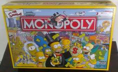 THE Simpsons Special Edition Monopoly Board Game Parker | eBay