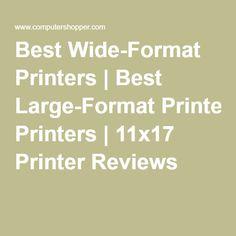 Best Wide-Format Printers | Best Large-Format Printers | 11x17 Printer Reviews Types Of Printing, Large Format, Printers, Screen Printing, Digital, Screen Printing Press, Screenprinting