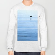 Float On Long Sleeve T-shirt by Kevin Atkinson   Society6