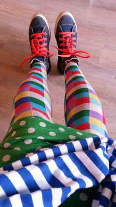 BYMAMAHA: Löysin eilen pirtsakat sukkikset. Minkähän kanssa ...