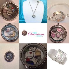 Here's an idea of what The Charming Locket has to offer!