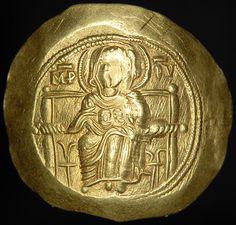 Gold Isaac II Angelus Byzantine Empire