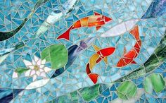 Mosaic Art Patterns | Nature Spirit - by Sharon L Baker from Mosaics Art Gallery
