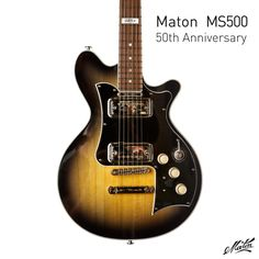 Maton MS500 50th Anniversary. #beautiful #handmade #electric #guitar # #madeinaustralia #guitars