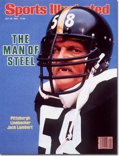 Sports Illustrated July 30 1984 Jack Lambert Man of Steel Pittsburgh Steelers Football, Pittsburgh Sports, Pittsburgh Pirates, Pittsburgh Penguins, College Football, Here We Go Steelers, Steelers Stuff, Pitt Steelers, Pitsburgh Steelers