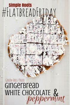 Paleo Christmas Cookies: Gingerbread Flatbread