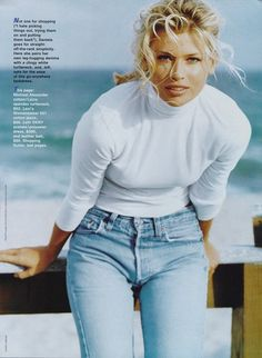 """Daniela At Ease"", Glamour US, March 1996  Photographer : Andre Carrara  Model : Daniela Pestova"