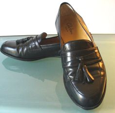 Cole Haan Men's Dress Tassle Loafers Made in Italy Size 9US by EurotrashItaly on Etsy