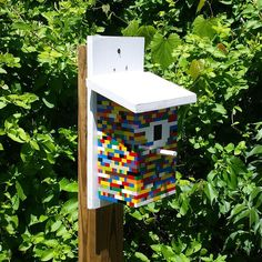 Geocache GC5NEER: Pieced Together by WVTim. Over 100 favourite points! Now you know what to do with that old Lego set. Part of the Mystery Caches of Berkeley County Geotrail in West Virginia. (pinned from websta to Birdhouse Geocaches - https://www.pinterest.com/islandbuttons/birdhouse-geocaches/) #IBGCp