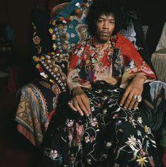 Jimi Hendrix Fashion Style