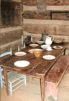 Log cabin Museum of Appalachia