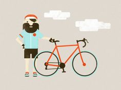 Bike Illustrations by Jacob Boie
