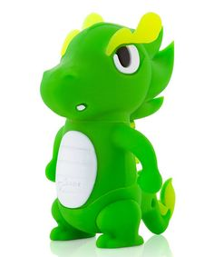 Look what I found on #zulily! Green Dragon 8 GB USB Drive & Changeable Cover by Bone #zulilyfinds