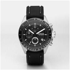 FOSSIL® Watch Collections Decker Watches:Men Decker Silicone Watch - Black CH2573