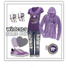 """""""Kansas State Game Day"""" YES to all but the jeans please!!! :-D"""