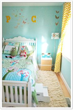 toddler room, totally doing this if I have another little girl.