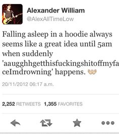 It's just that sometimes I think that Alex Gaskarth is my spirit animal.
