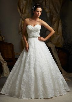 Bridal Dress From Blu By Mori Lee Style 5115 Alencon Lace Bravura 4475 Roswell Rd