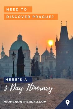3 days in Prague is perfect: enough time to discover all the sights and sample all the fun. Czech Beer, Lookout Tower, Solo Travel Tips, Old Town Square, Prague Castle, Colourful Buildings, National Museum, Travel Guides, The Neighbourhood
