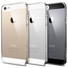EUR € 2.39 - Läpinäkyvä Hard PC Cover Case for iPhone 5/5S vapaa laivaliikenteen kaikki gadgetit!