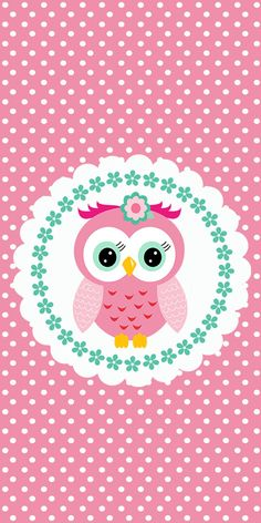 Buhita Rosa: Invitaciones y Etiquetas para Candy Buffet para Imprimir Gratis. Cute Owls Wallpaper, Owl Background, Owl Birthday Parties, Owl Templates, Paper Owls, Beautiful Owl, Pink Owl, Owl Art, Cute Wallpapers