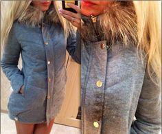 Aliexpress.com: Купить 2014 новинка зимняя куртка женская пальто меховой воротник из Надежный воротник шубы поставщиков на LovaRu