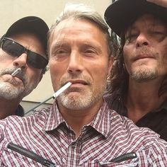 How did this moment of badassery happen? Jeffrey, Mads and Norman