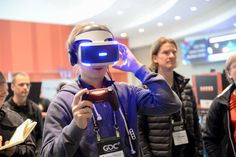 VRDC - or Virtual Reality Developer's Conference - was an event that took place within this year's Game Developers Conference (GDC). Now it's a new event! Evolution Of Video Games, Vr Application, Virtual Reality Games, Stretch Bands, Ny Times, Conference, Documentaries, Product Launch, San Francisco