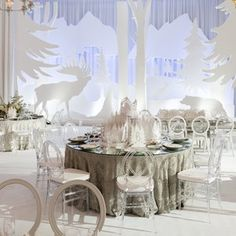 La Tavola Fine Linen Rental: Mika Silver with Dupionique Pewter Napkins Twinkle Lights, Twinkle Twinkle, Mika, Winter Treats, Winter Parties, Menorah, Creative Director, Snowflakes, Holiday