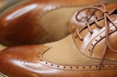 Style trend: Mixed Material Brogues | The Mitchelli – Modern Gentleman