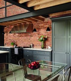 Tom Howley - Hartford Industrial Style Shaker Kitchen