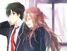 Sword Art Online | A-1 Pictures | Reki Kawahara | abec / Kirigaya Kazuto and Yuuki Asuna