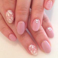 ネイル(No.884341) フラワー  春  ピンク  ジェルネイル  お客様  ハンド   かわいいネイルのデザインを探すならネイルブック!流行のデザインが丸わかり!