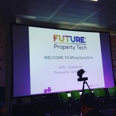 Today we are at #PropTech2016... Ready to discover and discuss technology in property. #Tech #PropTech #Technology #Property #VR #VirtualReality #AugmentedReality #AR #London #Expo