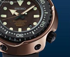 "WATCHESBYSJX: Seiko Introduces The Prospex Marinemaster 1000m Cermet ""Tuna"" Limited Editions (With Price)"
