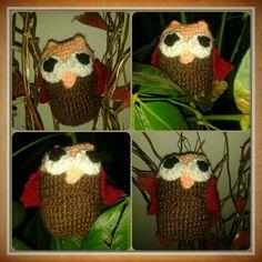 Crochet Owl #crochet #haken