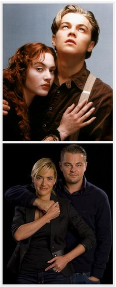 Jack and Rose forever <3 they are both still good looking
