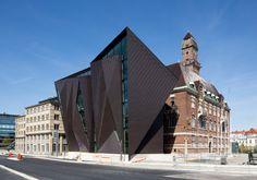 Dornenhaus in Malmö Unigebäude von Kim Utzon und TERROIR