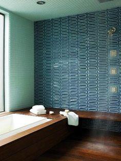 Bold wall tile