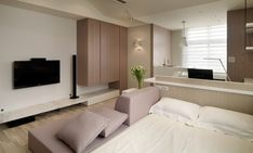 studio apartment ideas | Apartment Designs, Studio Apartment Layout Design Ideas: Small Stylish ...